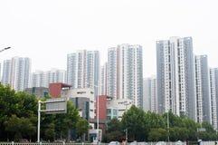 Edificio residenziale cinese Fotografia Stock Libera da Diritti