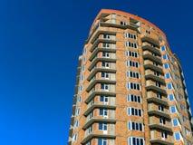 Edificio residenziale in costruzione Fotografia Stock Libera da Diritti