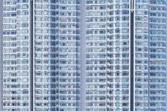 Edificio residenziale di alto aumento Fotografie Stock Libere da Diritti