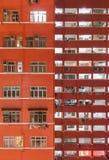 Edificio residenziale di alto aumento Fotografia Stock