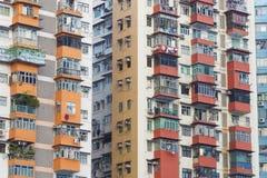 Edificio residenziale di alto aumento Fotografie Stock