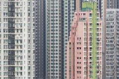 Edificio residenziale di alto aumento Fotografia Stock Libera da Diritti