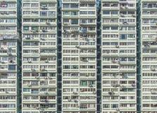 Edificio residenziale di alto aumento nella città di Hong Kong Fotografie Stock