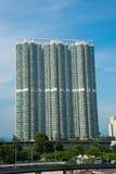 Edificio residenziale di densità di Hign Fotografia Stock