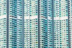Edificio residenziale di densità di Hign Immagini Stock