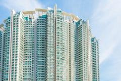 Edificio residenziale di densità di Hign Fotografie Stock