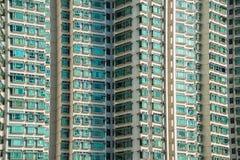 Edificio residenziale di densità di Hign Fotografia Stock Libera da Diritti