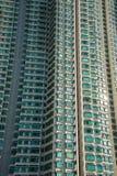 Edificio residenziale di densità di Hign in Hong Kong Immagini Stock