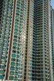 Edificio residenziale di densità di Hign in Hong Kong Immagine Stock