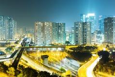Edificio residenziale di Hong Kong Immagini Stock
