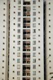 Edificio residenziale - foto del primo piano fotografia stock libera da diritti