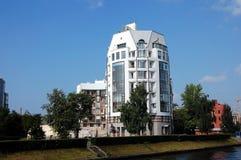 Edificio residenziale moderno Fotografia Stock