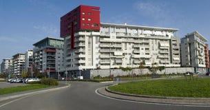 Edificio residenziale moderno fotografie stock libere da diritti