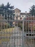 Edificio residenziale in Montebelluna, Italia, Veneto immagine stock libera da diritti
