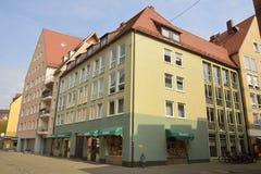 Edificio residenziale n Norimberga Fotografia Stock