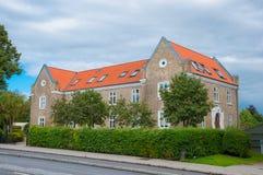 Edificio residenziale in Ringsted Danimarca Fotografia Stock Libera da Diritti
