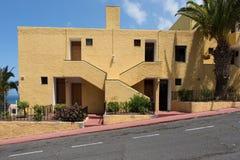 Edificio residenziale Tenerife Fotografia Stock Libera da Diritti