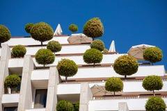 Edificio respetuoso del medio ambiente Foto de archivo libre de regalías
