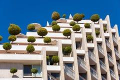 Edificio respetuoso del medio ambiente Fotos de archivo