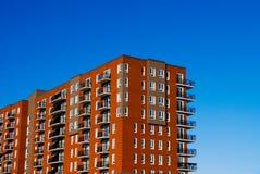 Edificio rojo fotos de archivo