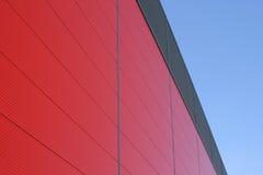 Edificio rojo Foto de archivo libre de regalías