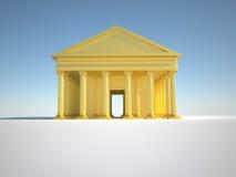 Edificio romano libre illustration