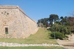 Edificio romano Fotografía de archivo libre de regalías