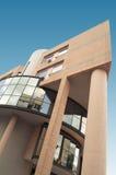 Edificio rosado Fotos de archivo libres de regalías