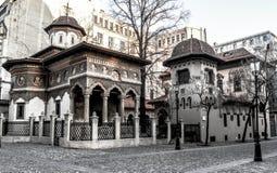 Edificio rumano fotografía de archivo