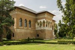 Edificio rumano del estilo Fotos de archivo