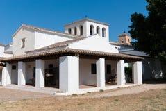 Edificio rural típico en el La Mancha Foto de archivo libre de regalías
