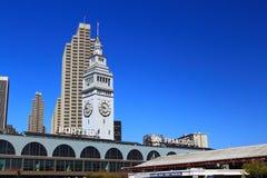 Edificio San Francisco del transbordador foto de archivo libre de regalías