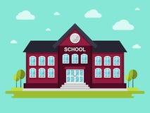 Edificio scolastico Fotografie Stock