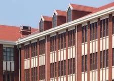 Edificio scolastico Immagini Stock