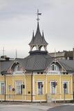 Edificio scolastico in Kokkola finland Fotografia Stock Libera da Diritti