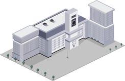 Edificio scolastico moderno Fotografia Stock Libera da Diritti