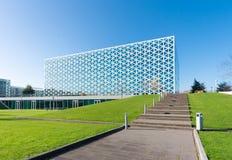 Edificio scolastico moderno Immagine Stock Libera da Diritti