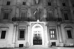 Edificio servizi brasiliano in Italia Fotografie Stock