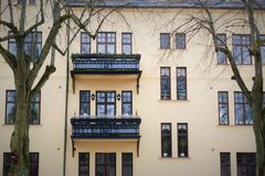 Edificio sueco Imagen de archivo