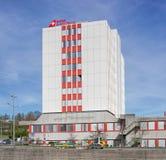 Edificio suizo del entrenamiento de la aviación en Kloten Imagenes de archivo