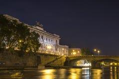 Edificio supremo de la casación en Roma imagen de archivo libre de regalías