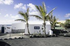Edificio tradicional de Lanzarote Fotos de archivo libres de regalías