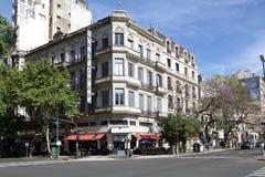 Edificio tradicional en Buenos Aires, la Argentina Foto de archivo libre de regalías