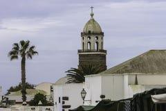 Edificio tradicional en Teguise Foto de archivo libre de regalías