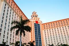 Edificio tropical Imagen de archivo libre de regalías