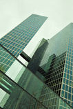Edificio urbano del rascacielos Fotografía de archivo