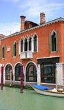 Edificio veneciano foto de archivo libre de regalías