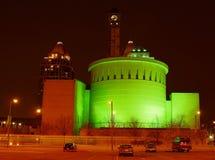 Edificio verde Foto de archivo