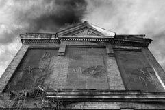 Edificio viejo Fotos de archivo libres de regalías