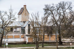 Edificio viejo Fotografía de archivo libre de regalías